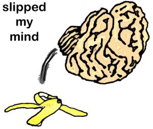 THÀNH NGỮ 10: Slip one's mind